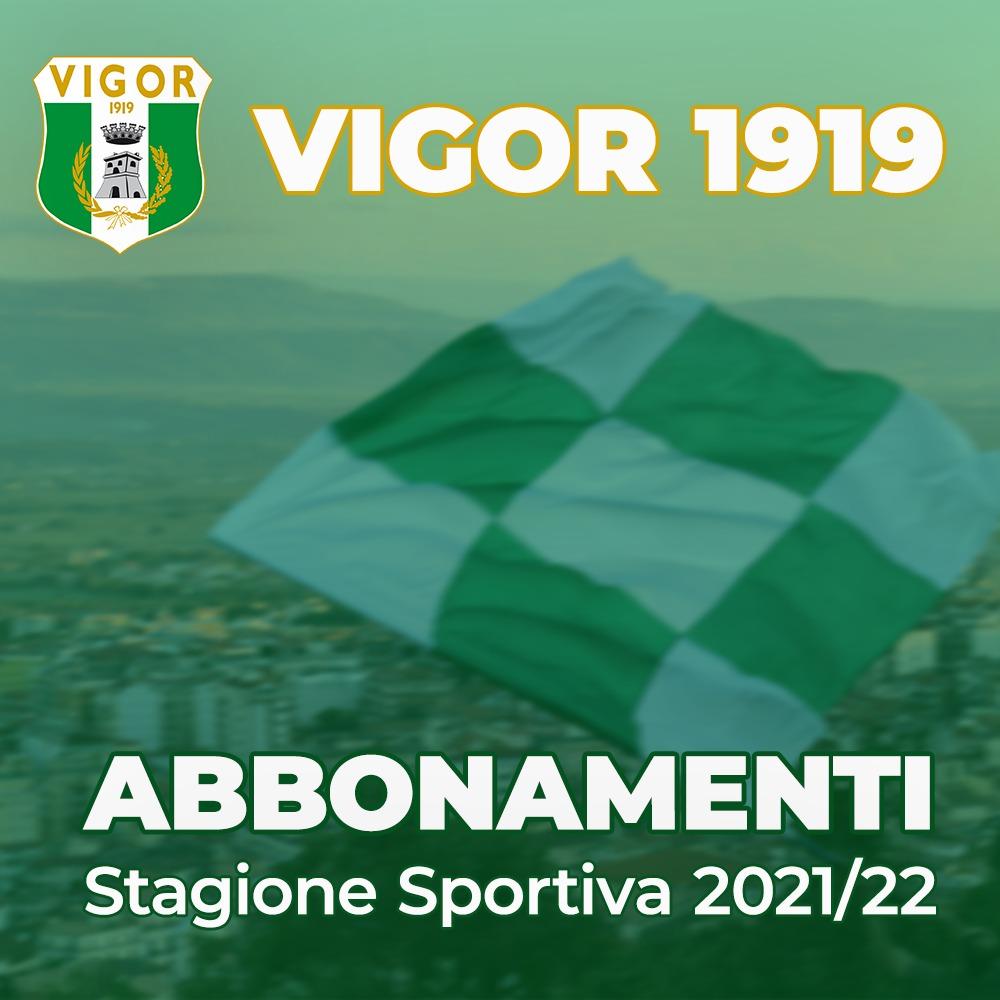 Vigor 1919: partita la campagna abbonamenti per la stagione 2021/22