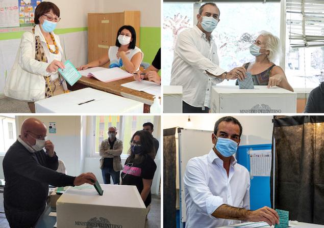 Calabria: hanno votato i 4 candidati presidenti