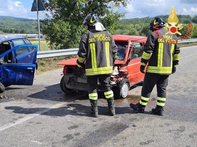 Incidente stradale sulla SP 66 tra Decollatura e Soveria Mannelli, due feriti