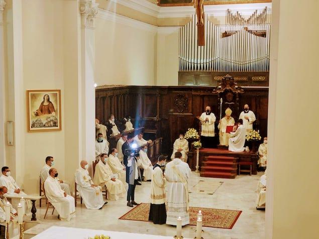 Lamezia. Don Francesco Benvenuto ordinato presbitero