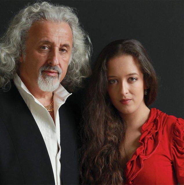Mischa Maisky e sua figlia Lily