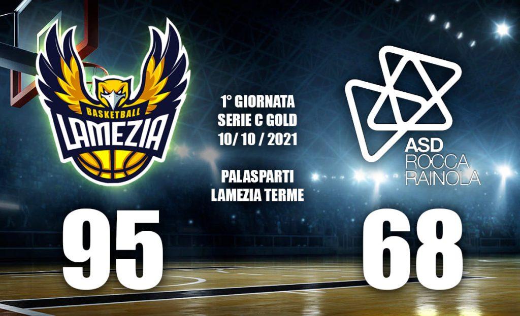 Ottima prova del Basketball Lamezia che affonda Roccarainola