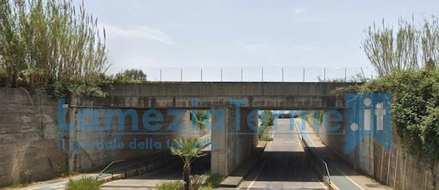 sottopasso ferroviario di via G. De Sensi