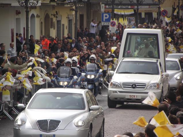 visita Papa Benedetto XVI.